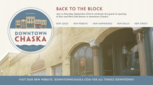 Back to the Block taking place in Downtown Chaska